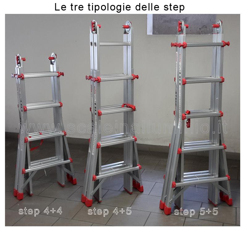 Scala telescopica in alluminio step 5 5 - Scala telescopica alluminio ...