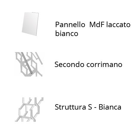 Accessori per scala per soppalchi a pantografo 70 x 100