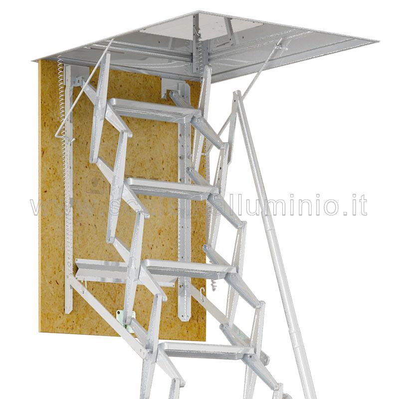 Scale retrattili per soffitte e sottotetti 45 x 70