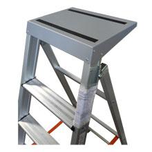 Scala per pittori in alluminio