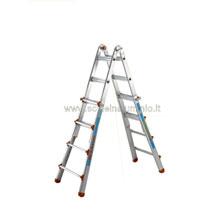Scale in alluminio doppia salita da metri 0.93 a metri 3.16