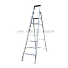 Scale a salita singola da mt 0.95 a mt 3.75 altezza al piano