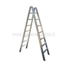 Scale in alluminio doppia salita da metri 1.50 a metri 4.00