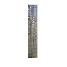 Scale con gabbia in alluminio