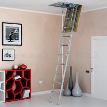 Scale retrattili per soffitte e sottotetti rigida 60/70 x 130 montata
