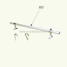 Elemento tubolare a cui viene agganciata la scala per soppalchi