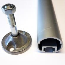 Tubolare 30 mm per fissaggio scala per soppalchi