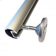 Sistema aggancio tubolare per scale con ganci - particolare