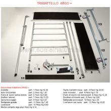 Ponteggio in alluminio Argo+ dettagli