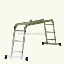 scala in alluminio multiuso - piani di lavoro 4x3