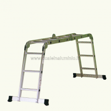 scale in alluminio - piani di lavoro Arianna 4x3