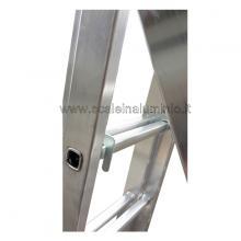 Scala in alluminio - componibile 3 X 9 altro particolare 6