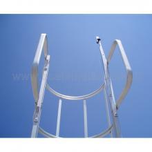 Scale con gabbia maniglioni di sbarco