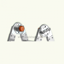Scale in alluminio Telescopica - Scala Queen 66 particolare snodo