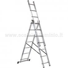 Scala componibile in alluminio Export 3 X 9