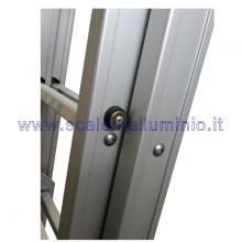 Scala componibile in alluminio 3 x 8 dettagli costruttivi