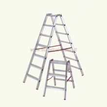 Scala in alluminio a doppia salita professionale 4 gradini