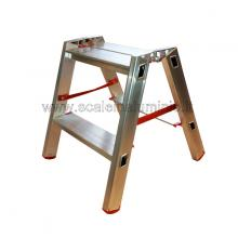 Scala in alluminio a doppia salita professionale 2 gradini