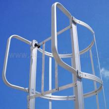 Scale con gabbia cancelletto di sbarco