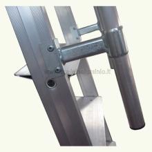 scale in alluminio - Scala piria 15 gradini con prolunga particolare 1