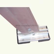 scale in alluminio - Scala piria 15 gradini con prolunga particolare 2