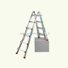Scale in alluminio Telescopica - Scala Queen 66 aperta sistema zoppo