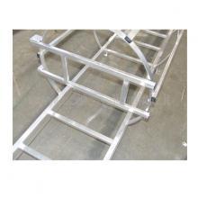 scala con gabbia di protezione cancelletto - anti intrusione
