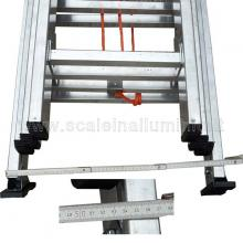 Scala con fune 4 rampe 10 gradini ingombro massimo in larghezza