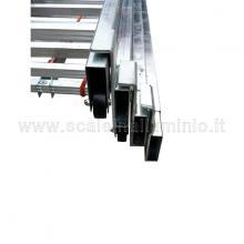 Scala con fune 4 rampe 10 gradini sovrapposizione rampe