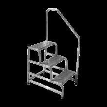 Scala sgabello amagnetico in alluminio