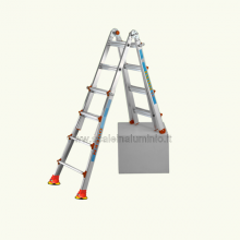 scale in alluminio - Scala Queen 34 con ventose zoppo