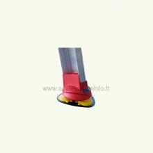 scale in alluminio - Scala Queen 45 con ventose dettaglio4