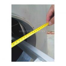 scale in alluminio - scala ispezione autoclave