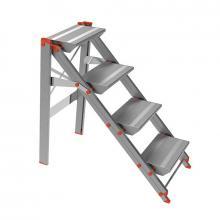 Sgabelli in alluminio pieghevoli mod 205 4 gradini