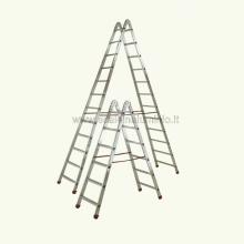 Scala stella 8 gradini scale in alluminio