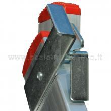 Scala componibile professionale in alluminio 2 rampe 6 gradini