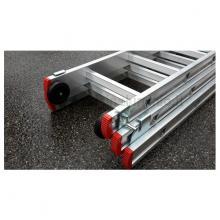 Scala componibile in alluminio professionale 3 rampe 13 gradini part