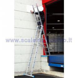Scale componibili 2 rampe - 18 gradini