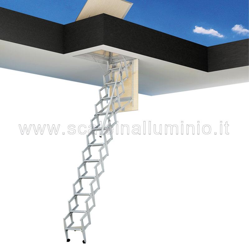 Scale retrattili per terrazze e tetti 70 x 90